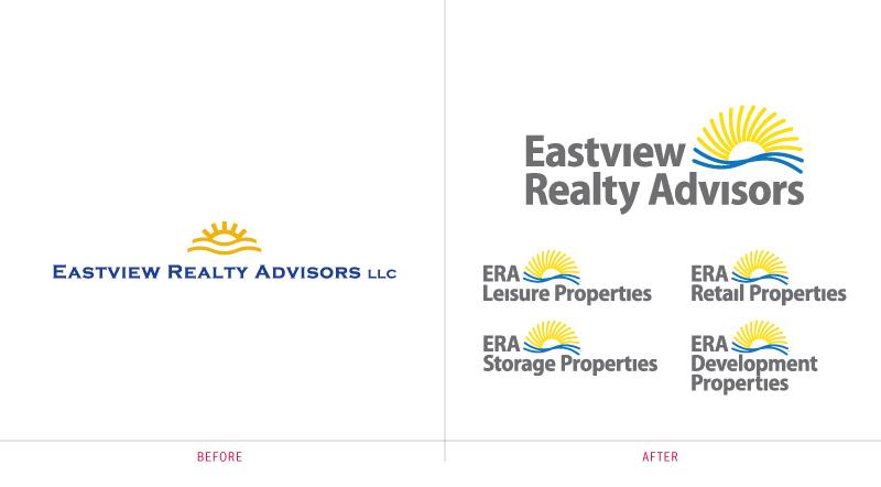 Eastview Realty Advisors Brand Identity